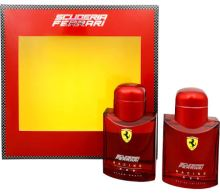 Ferrari Scuderia Racing Red M EDT 75ml + After Shave Lotion 75ml SET