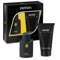 Ferrari Scuderia Black M EDT 75ml + SG 150ml SET