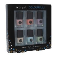2K Let 'Get Colourful! Pastels Nail Polish W lak na nechty 5ml lak na nechty 6 x 5 ml