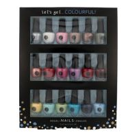 2K Let 'Get Colourful! Nail Polish Collection W lak na nechty 3,5 ml lak na nechty 18x 3,5 ml